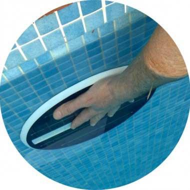 Instalación sin obra de focos piscina